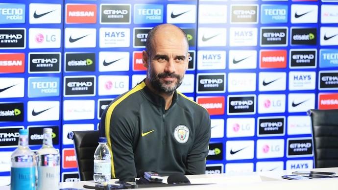 Guardiola Manchester City  (Foto: Reprodução/Twitter)
