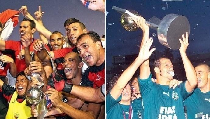 Atlético-GO x Goiás - 2007 / 2006 (Foto: Ricardo Rafael e Wagnas Cabral / O Popular)
