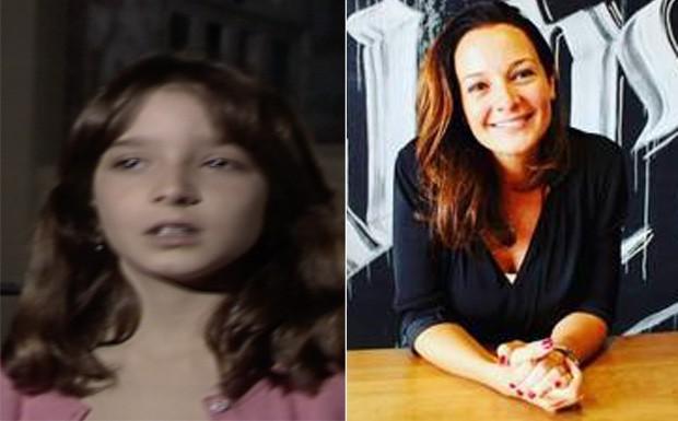 Juliana Lucas Martin era Verinha (Foto: reproduo)