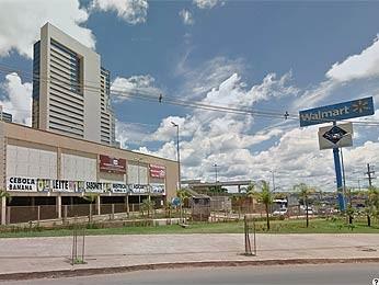 Wal Mart de Águas Claras, no Distrito Federal (Foto: Google/Reprodução)
