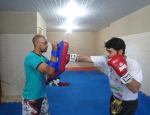 Eric Guimarães Muay Thai (Foto: GLOBOESPORTE.COM)