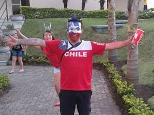 Rodrigo Escobar, do Chile (Foto: Rodrigo Escobar Rebolledo/Arquivo pessoal)