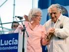 Mujica lança campanha de sua mulher à prefeita de Montevidéu