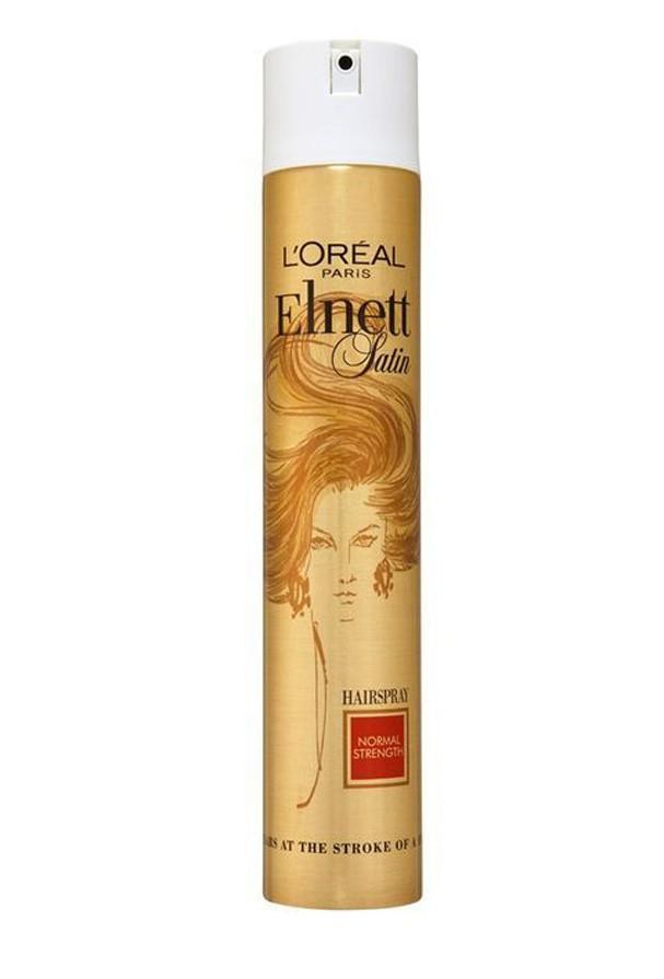 Elnett Satin, spray de fixação e brilho da L'Oréal Paris (Foto: Divulgação)
