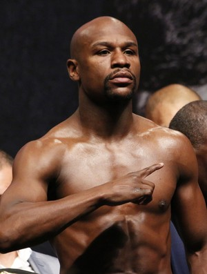 Mayweather x Pacquiao, boxe, Las Vegas, pesagem (Foto: Evelyn Rodrigues)