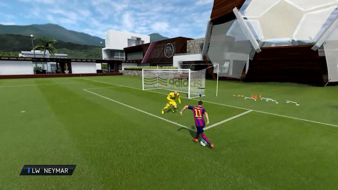Fifa 15: aprenda os dribles mais efetivos e humilhantes do game (Foto: reprodução/Murilo Molina)