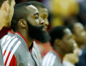 basquete NBA James Harden Barba (Foto: Getty Images)