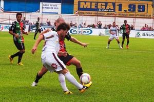 Brusque x Atlético de Ibirama (Foto: Orlando Pereira/CAHA)