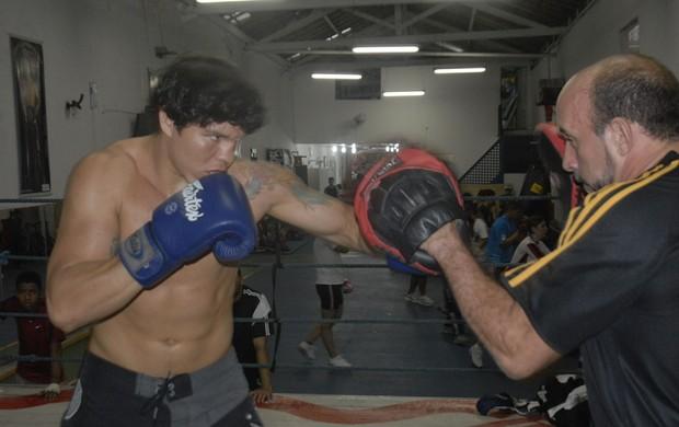 Isaac Rodrigues, pugilista paraense (Foto: Ary Souza/O Liberal)