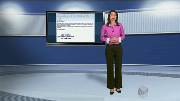 Dica do quadro de emprego é para quem está deixando a empresa onde trabalha (Foto: Reprodução EPTV)