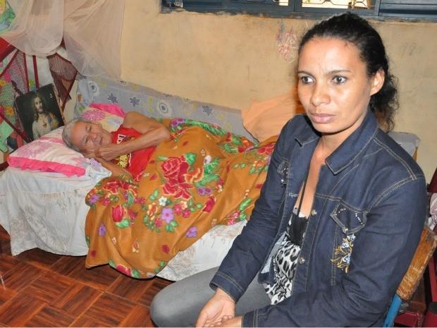 Segundo a filha da vítima, a mãe tem alzheimer e não teria condições de assinar documento (Foto: Leandro Abreu/G1 MS)