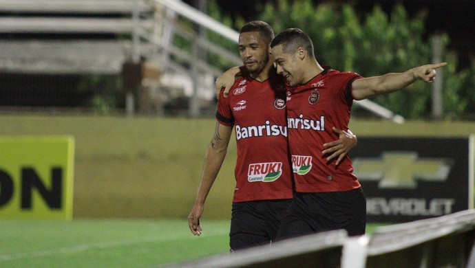 Bragantino x Brasil de Pelotas, Série B, Nabi Abi Chedid, Felipe Garcia, Ramon, gol (Foto: Divulgação / G. E. Brasil)