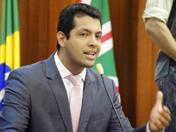 Thiago Albernaz (PSDB) é vice do candidato à Prefeitura de Goiânia Vanderlan Cardoso (PSB) Goiás  (Foto: Divulgação/Alberto Maia)