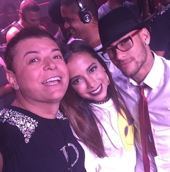 festa de aniversário da irmã de Neymar