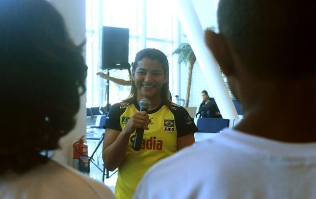 Sarah Menezes judô evento Mundial Rio de Janeiro (Foto: Thierry Gozzer)