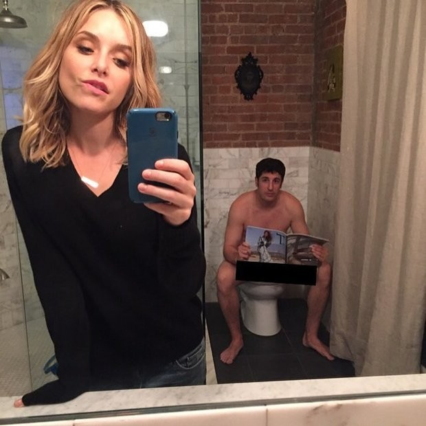 Jenny Mollen e Jason Biggs (Foto: Instagram)