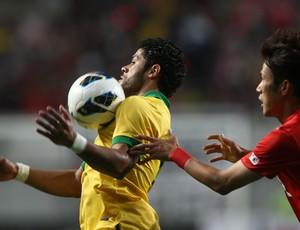 Hulk Brasil x Coreia (Foto: Mowa Press)