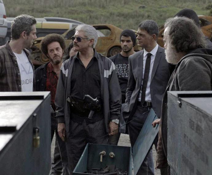 Tio anuncia nova missão da facção criminosa (Foto: TV Globo)