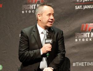 David Allan, vice-presidente do UFC na Europa (Foto: Adriano Albuquerque)