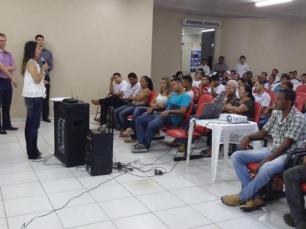Reuniões acontecem mensalmente em Ji-Paraná (Foto: Apac/Divulgação)