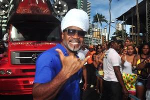 Carlinhos Brown é atração nesta terça-feira (2), na Festa de Iemanjá (Max Haack/Agência Haack)