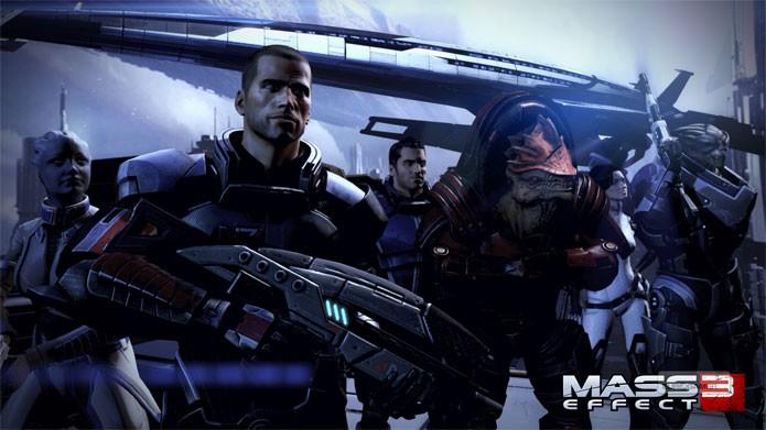 Mass Effect 3 pode ser comprado com desconto em sua edição de luxo (Foto: Divulgação)
