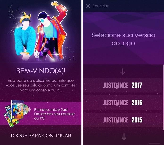 Após iniciar o jogo no PC ou no console, selecione a versão do game desejada (Reprodução/Cássio Barbosa)