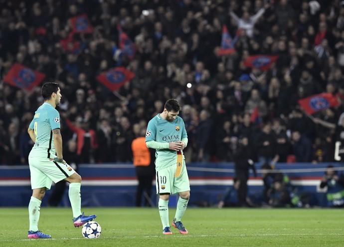 Messi Suárez Barcelona PSG (Foto: AFP)