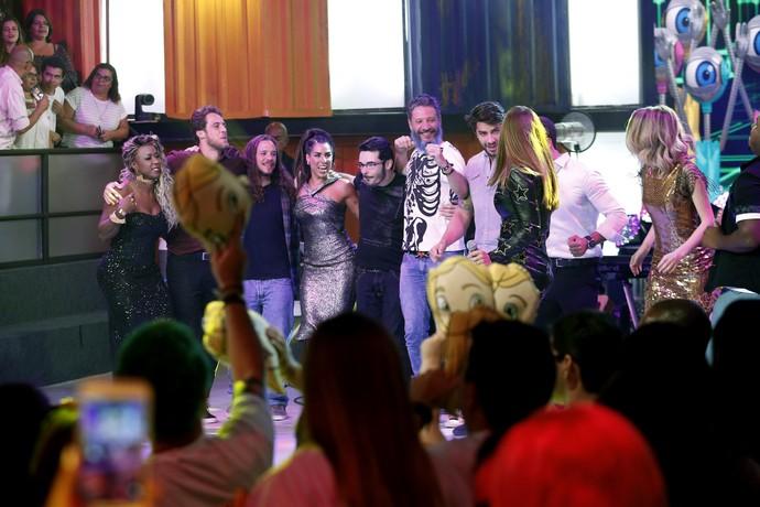 Que momento! Todos juntos (Foto: Raphael Dias/Gshow)