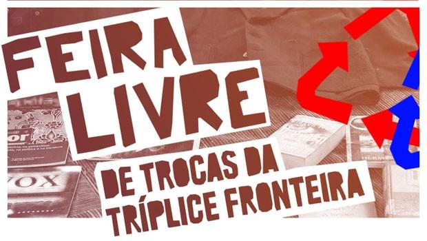 4ª Feira Livre de Trocas da Tríplice Fronteira será no dia 3 de abril (Foto: Divulgação)