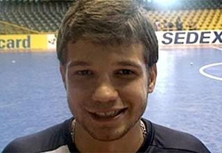 Tiago Guina, ala, jogador de futsal (Foto: Reprodução / Globoesporte.com)