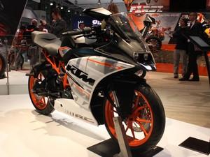 KTM RC 390 (Foto: Rafael Miotto/G1)