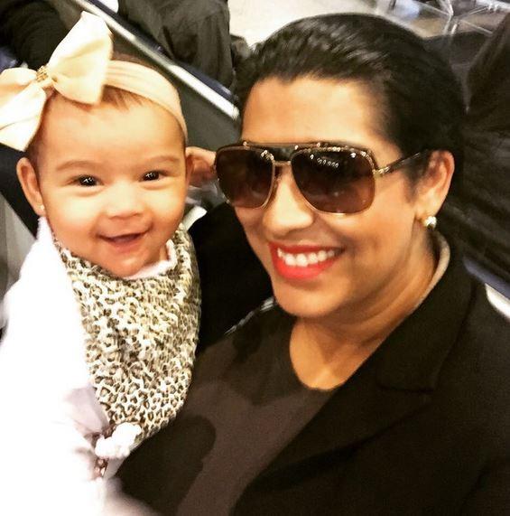 Moranguinho e a filha Maria Victória (Foto: Instagram / Reprodução)