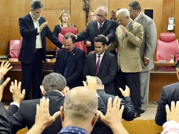 Uma das sessões da Câmara de João Pessoa foi dedica a comemoração da Semana da Cultura Evangélica (Foto: Olenildo Nascimento/CMJP)