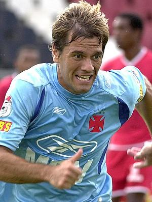 jogadores bizarros do Vasco - Villanueva (Foto: agência Vipcomm)
