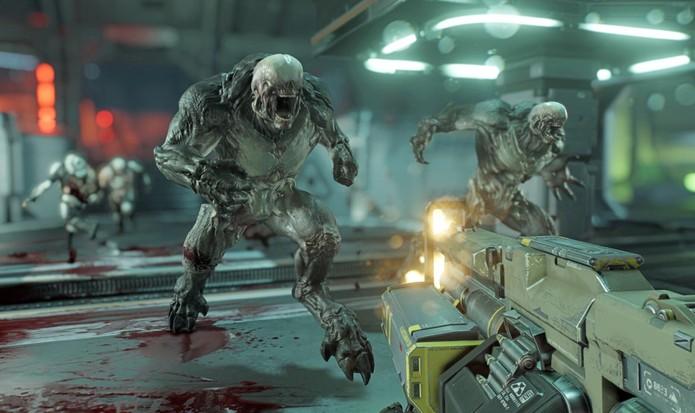 Novo Doom promete mais armas e clásicas também (Foto: Divulgação/id Software)