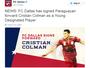 """FC Dallas anuncia Colmán e cita briga com """"grande"""" São Paulo pelo atacante"""