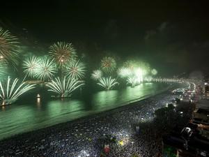 Réveillon 2012 em Copacabana (Foto: Marizilda Cruppe/Riotur)