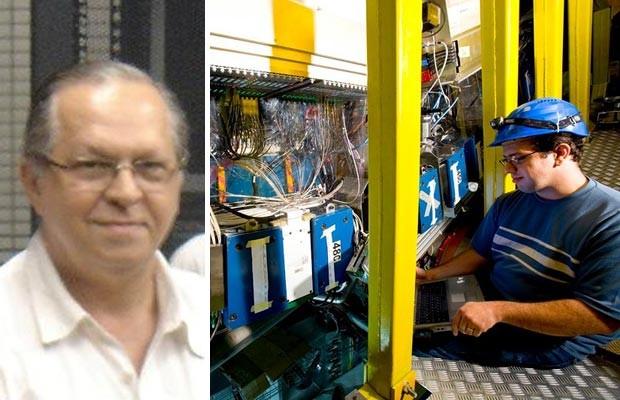 Alberto Santoro e Denis Damazio são dois dos brasileiros envolvidos com as pesquisas do Cern (Foto: Arquivo pessoal)