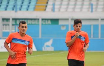 Lucas e Rafael Costa treinam e Dado segue sem confirmar time titular