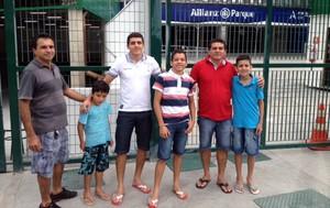 Novo estádio do Palmeiras vira atração turística (Foto: Felipe Zito)