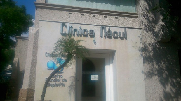 Fachada da clínica (Foto: EGO)