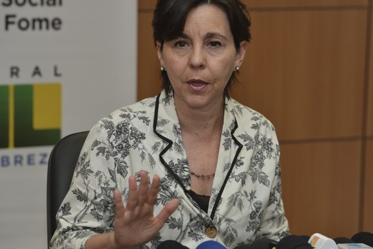 A ministra do Desenvolvimento Social e Combate à Fome, Tereza Campello (Foto: Valter Campanato/ABr)