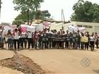 Estudantes protestam por melhorias em escolas de Curionópolis, no Pará