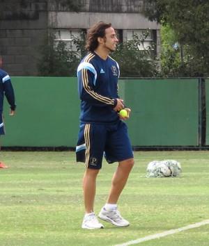 Valdivia treino Palmeiras (Foto: Marcelo Hazan)