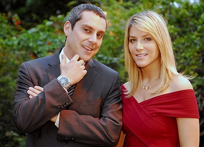 Gilmar, vivido por Alexandre Nero, fazia armações com a ajuda de Suely, papel de Giovanna Ewbank (Foto: João Miguel Júnior /  TV Globo)