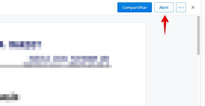 Editando um documento no Dropbox (Foto: Reprodução/Helito Bijora)