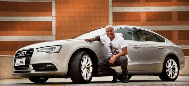 Marcos Assunção Santos carro (Foto: Divulgação/Audi)