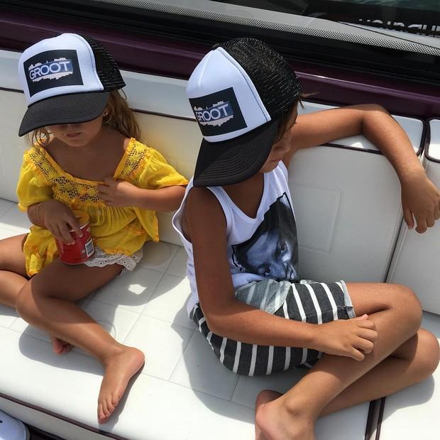 Filhos de Kourtney Kardashian (Foto: Reprodução/ Instagram)