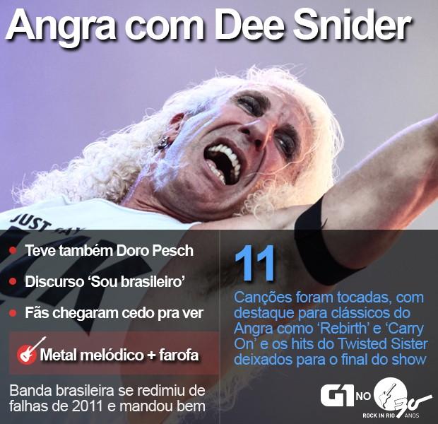 Angra tocou com Dee Snider no Palco Sunset do Rock in Rio (Foto: Fabio Tito/G1)